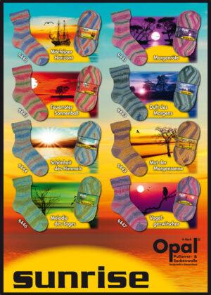 Opal Sunrise sokkenwol 4 draads